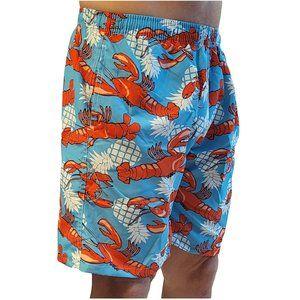 Men's Swimming Trunks, Lobster